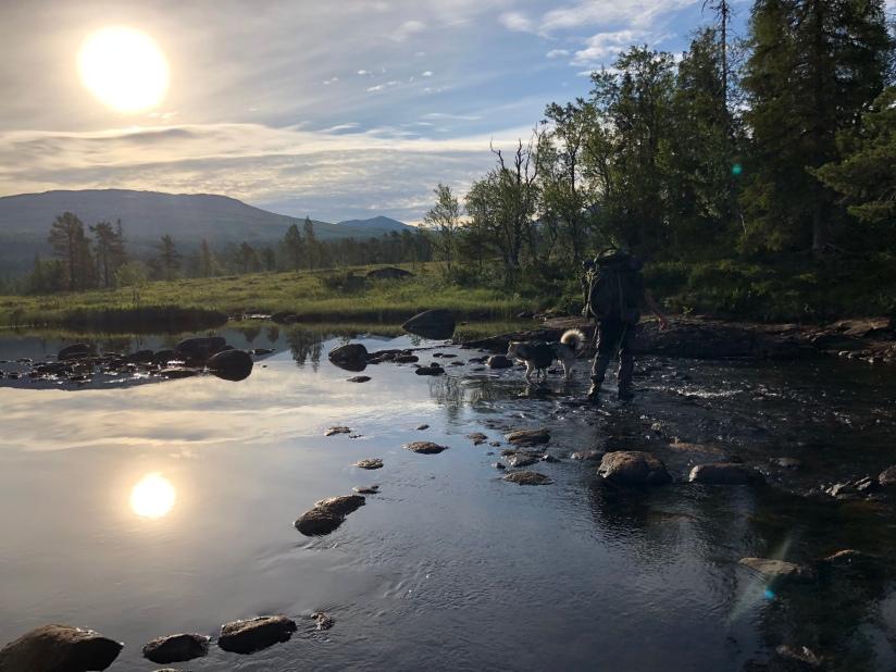Dag 56  Blåfjella – Skjækerfjellanasjonalpark