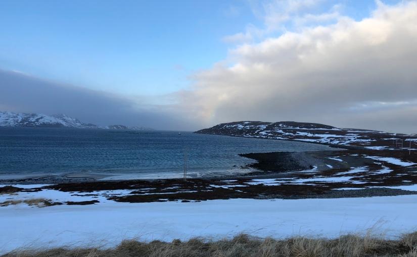 Dag 111: Våt og vindfull dag fra Olderfjord tilRepvågstranda