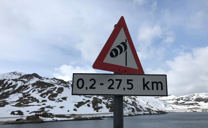 Dag 113: Fra Honningsvåg tilSkarsvågkrysset