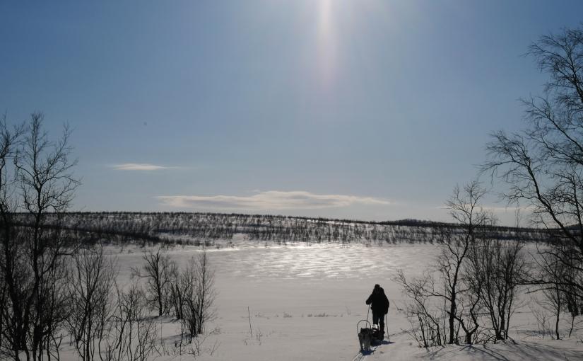 Dag 100: Fra Finland og nordover tilBáktejávri